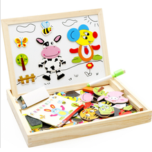 Farm Magnetic Game Hout Puzzel Board Voor Peuters