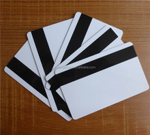 Blank MIFARE 1K RFID Cards Combined with Hico magnetic stripe for Cashless Payment printable by ID printer