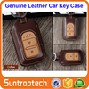 2 3 4 Buttons Flip Smart Keyless Remote Car Key Genuine Leather Case for Honda CRIDER CRV XRV Jade CIVIC Accord CKL11