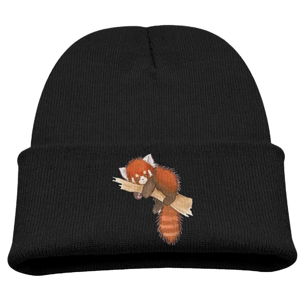 9ea67f407d7 Get Quotations · BABY CAP X Cute Red Panda Bear Playing Babys Beanie  Slouchy Beanie