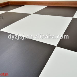 pure black and white pvc vinyl plastic flooring
