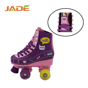 2017 popular item cheap inline skates professional four wheel roller skates from Jade