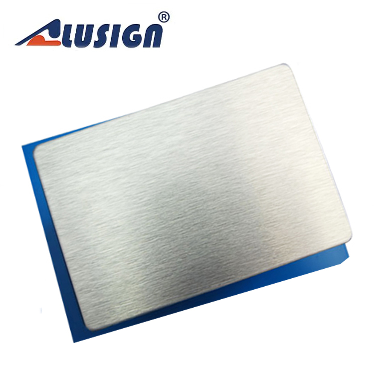 Alusign high quality ACP panel supplier from China aluminium tower scaffold