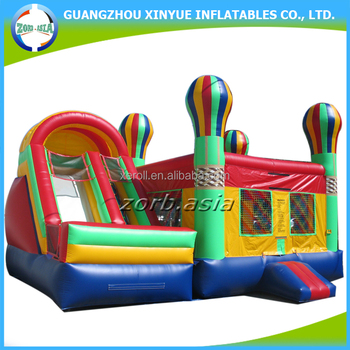 Durable Pvc Tarpaulin Inflatable Bouncy House Juegos Inflables
