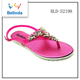 novel design ladies beach sandals dubai for wholesale