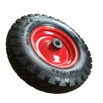 Polyurethane Foam Airless Tricycle Tires 400-8