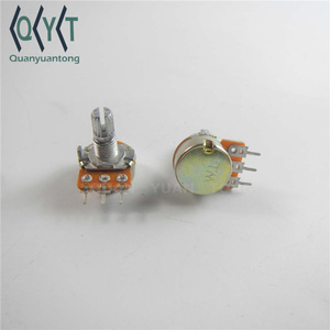 15mm WH148 B10 B10k 10K Rotary Potentiometer with Switch