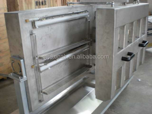 vacuum laminating frying machine thermoform
