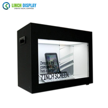 Interactive Advertising Player 42 inch Transparent LCD Screen