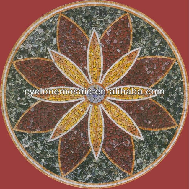 medallion mosaic designs for welcome stone pattern travertine marble paving