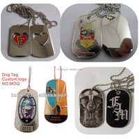Custom Dog Tags Stainless Steel Metal Tag Military Dog Tags