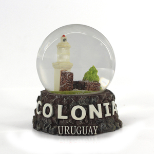 cheap gift lighthouse snow globes