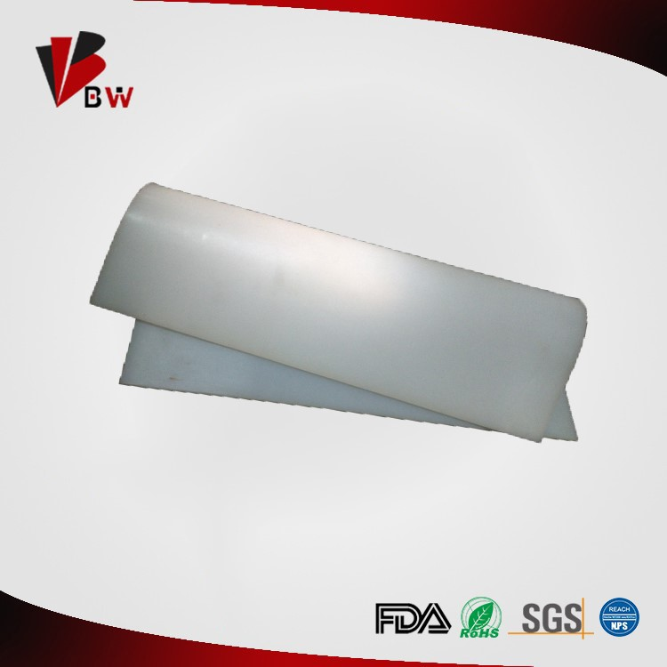 1mm Transparent Silicone Rubber Sheet