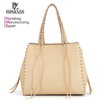 New Arrival Wholesale Paparazzi No.7871 Designer PU Leather Lady Fashion Bag OEM Custom Women Handbags