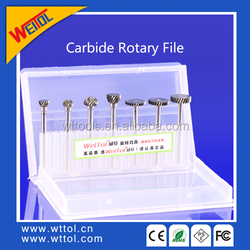10pcs Woodworking Milling Cutter /carbide rotary file