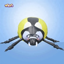 Giant Huge Inflatable ladybird Model ladybug Cartoon Nude Cartoon Character For Activities Special Events Advertisement/9.5M/
