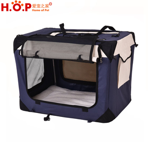 Soft Sided Cat Dog Travel Pet Carrier Bag Foldable Pet Cage