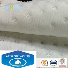 laminated pu sofa fabric breathable function waterproof plain pattern jacquard knitted fabric yarn producer for bed bug cove
