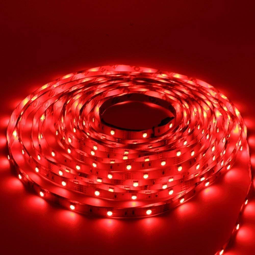 LED Strip Lights 32.8ft 300leds 10m Non-Waterproof RGB Color Changing SMD 5050 Light Strip