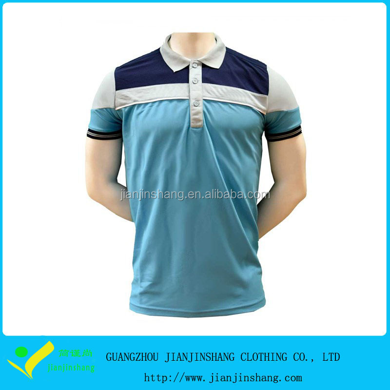 Cheapest Factroy Directly Sale Colorblocked Dri Fit Golf Shirts Wholesale