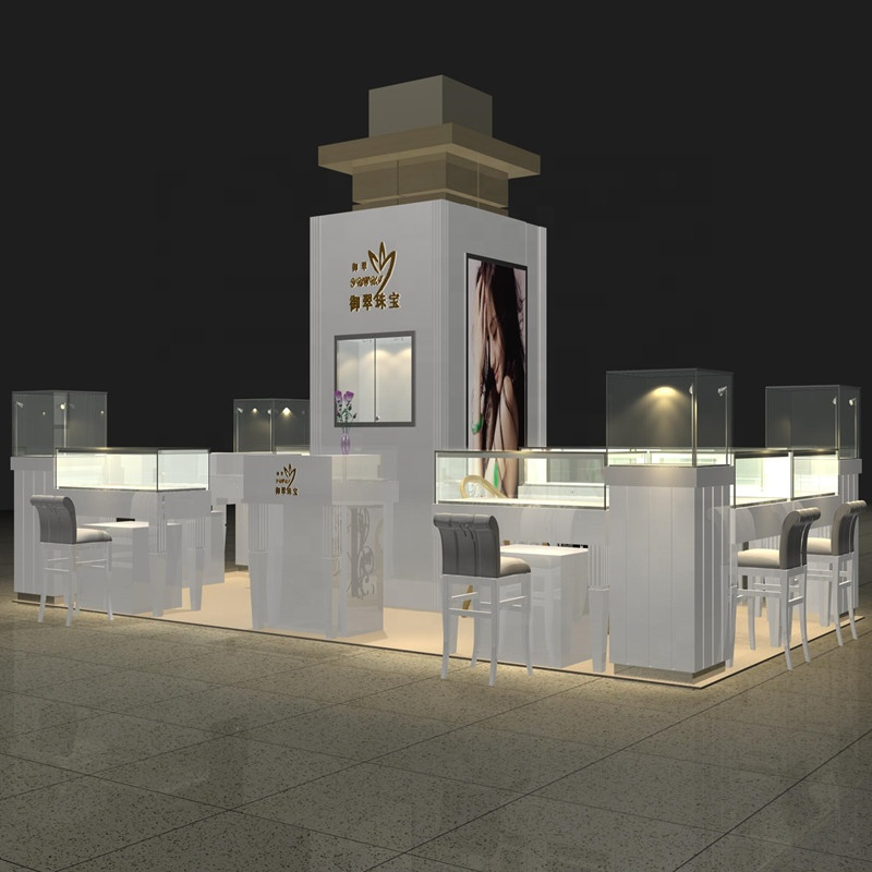 China Manufacturer Wholesale good reputation retail kiosk for sale jewelry