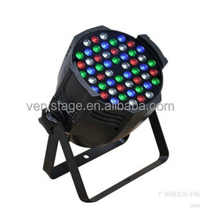 hot selling 54x3w high power led dj disco video shoot stage par can light