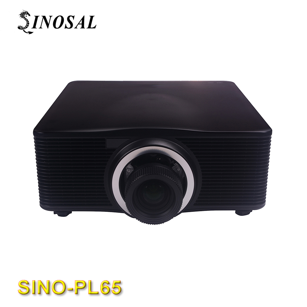 SINOSAL SINO-PL65 7000 lumens(ANSI) WUXGA 1920*1200 3D mapping video Projector Optoma