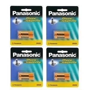 4 Packs of OEM Panasonic Hhr-4dpa/2b Ni-mh Rechargeable Cordless Phone Battery Fast Shipping Ship Worldwide