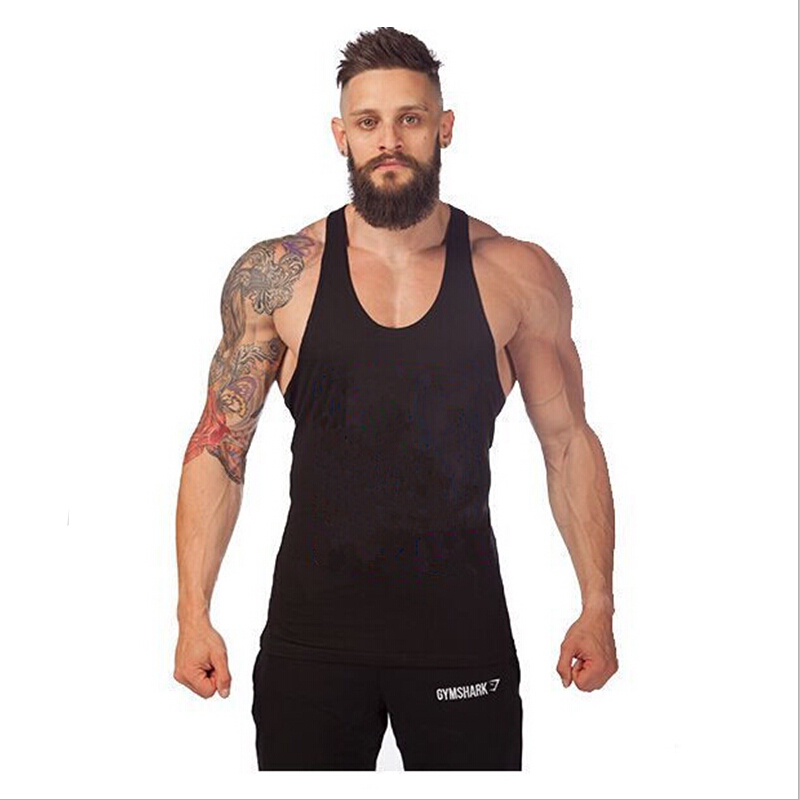 2b84463e5ab94 Get Quotations · 2015 mens bodybuilding stringer tank tops fitness men  singlets fashion sport clothes golds gym tank top