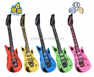 PVC Inflatable guitar mini kids toys plastic musical instruments