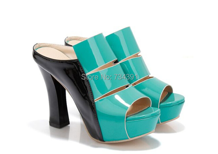 Buy Super high heel sandals slippers women summer sexy slip heavy-bottomed  thick slippers sandals with 2015 women fashion sandals in Cheap Price on ... ffb726960e32