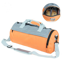 Wholesale gym duffel bag, shoe and bag set two in one