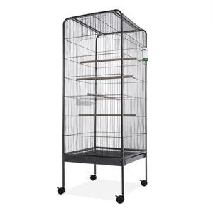 steel parrot Bird Cage With Stand
