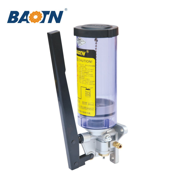 China BAOTN Lathe/CNC machine central lubrication systems piston grease hydraulic piston pump hand manual oil lubrication pump
