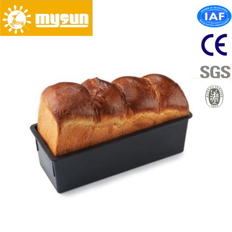Bakery Usage Customized Wavy Type Aluminum Alloy None Stick Baking Toast Box with Cover