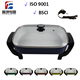 Electric White Ceramic Frying Pan / Paella Pan