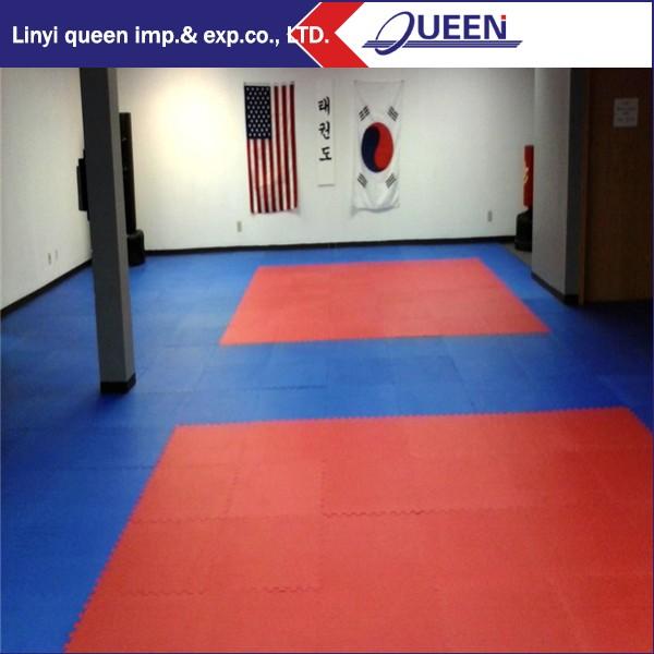 Enclavamiento alfombra de goma del piso sparring gear enclavamiento piso de baldosas artes - Alfombra de goma para piso ...