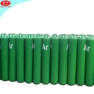 40L 150BAR CGA 580 High Purity 99.999% Welding Argon Gas Filled Bottle Price