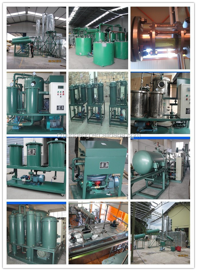 High-quality JNC used engine oil filtration equipment