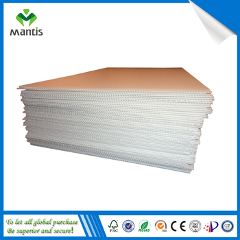 Floor Protection Sheet Concrete Formwork Sheet Corrugated