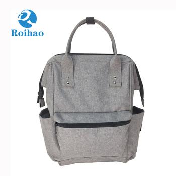 e1102ebd3584 multi-function waterproof baby diaper bag backpack