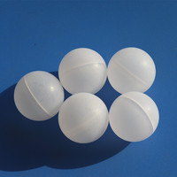 Selling 25.4mm 33mm 38.1mm 50mm 55mm 70mm floating large hollow plastic balls