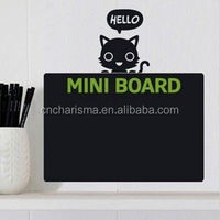 Factory supply classroom home office removable calendar chalkboard stickers