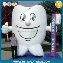 advertising inflatable cartoon tooth character