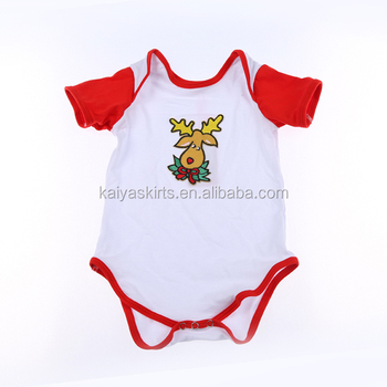 Baby products new born baby suit Christmas baby romper