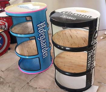 drum furniture. Loteng Gaya Industri Outdoor Furniture, Restaurant Minyak Drum Bangku, Furniture E
