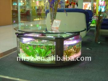 Oval Table Fish Tank Aquarium Buy Modern Coffee Table Coffee Table Aquariumoval Table Aquariumcoffee Table Fish Aquarium Product On Alibabacom