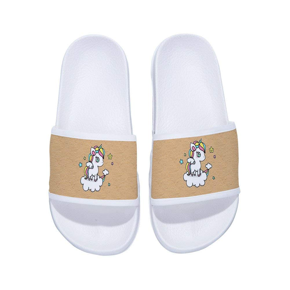 Beach Sandals for Boys Girls Indoor Outdoor Swimming Pool Spa Shower Slippers Soft Sole