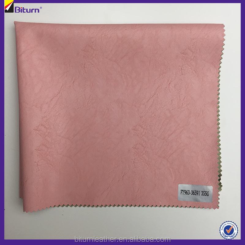 Best price 0.4mm pu leather goods for making clothes