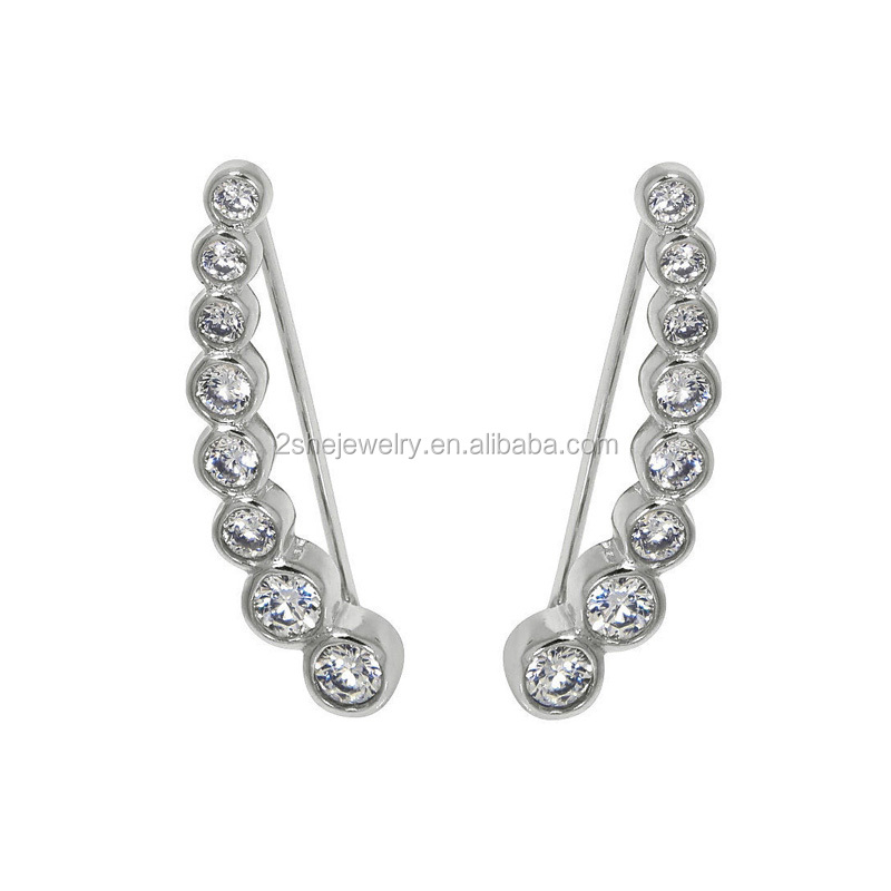 High Quality Fashion sterling silver <strong>earrings</strong>